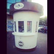 Продается готовый бизнес! Киоск в виде кофейного стаканчика для реализации свежеприготовленного кофе щ фото