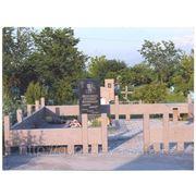 Монтаж на кладбище фото