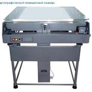 Сканирование печатной продукции на широкоформатном сканере фото