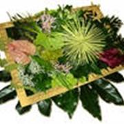 Изготовление букетов из искусственной флоры фото