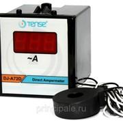 Цифровой амперметр 60 А щитовой панельный 72х72 мм фото