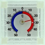Термометр КВАДРАТ для окон биметаллический фото