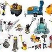 Аренда строительной техники и оборудования фото