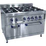 Плита газовая шестигорелочная с духовкой (газовой): ПГК-69ЖШ фото