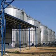 Зернохранилища. Силосные зернохранилища БРОК фото