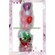 Букет из шаров с любовной тематикой фото
