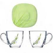 Набор чайный 12пр Carina sofiane green J7939 фото
