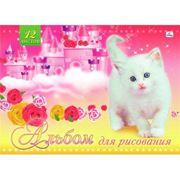 """Альбом 12л """"Сказочный замок и котенок"""" фото"""