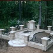 Надгробные плиты б/ф Стела 900*400*40 фото