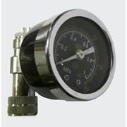 Манометр для измерения давления на рукаве М4 фото