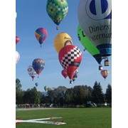 Полет на воздушном шаре фото