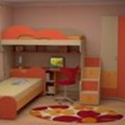 Мебель для детской комнаты серии «МИА» фото