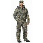 Костюм Тигр летний (куртка, брюки (ткань смесовая ) КМФ Темный лес фото