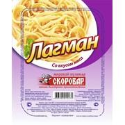 Лагман со вкусом мяса 90гр ТМ Скоровар фото