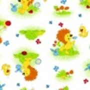 Ткань постельная Фланель 170 гр/м2 75 см Набивная/Детская 5036-1 цветной/S506 PTS фото