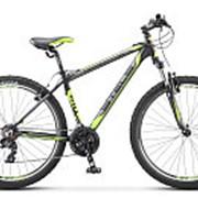 "Велосипед Stels Navigator-610 V 27,5"", 19"", чёрный/салатовый, арт. V030 фото"