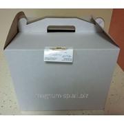 Тортовая упаковка 300*300*250 фото