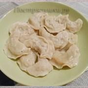 Вареники с сыр. кар., луком и салом Добрынинъ 0,8  фото