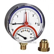 """Термоманометр F+R 828/10 (1/2"""",10бар,120°С) радиальный фото"""