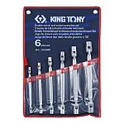 Набор торцевых ключей с шарниром, 6 предметов king tony 1a06mr фото