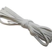 Резинка плетеная 8 ВТ270 белая d 8.0mm фото