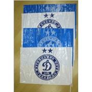 Изготовление флагов из полиэтилена с логотипом фото