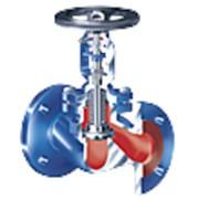 Клапан запорный угловой с сильфонным уплотнением