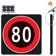 Светодиодный дорожный знак фото