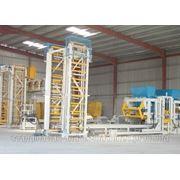 Блок линии, оборудование для производства бетонных блоков, брусчатки, бордюров, поребриков. фото