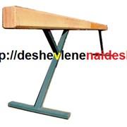 Бревно гимнастическое на 2-х металлических опорах L=5м, H=1.2м 341 фото
