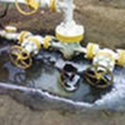 Крепление скважин трубами, извлечение труб, свободный спуск или подъем труб из скважин фото