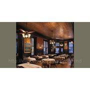 Потолки для ресторанов и кафе фото