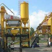 Асфальтосмесительные установки в исполнении: перемещаемая быстромонтируемая фото