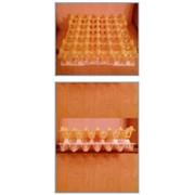 Упаковка для транспортировки яиц, пластмасовая 30 шт пластмасовая, многоразовая для товарных яиц фото