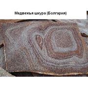 Сланец Болгарии «медвежья шкура» природной формы фото