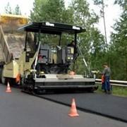 Строительство дороги фото