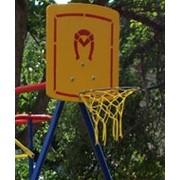 Кольцо баскетбольное с деревянным щитом тип 2 фото