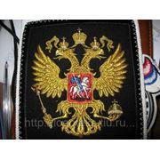 Вышивка флагов, гербов, вымпелов