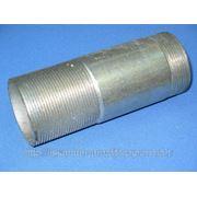 Сгон стальной оцинкованный, сантехнический Ду15 ГОСТ8969-75 фото