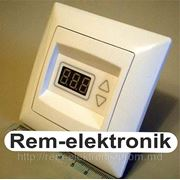 Универсальный терморегулятор ТР — 09Gunsan (внутренний) фото