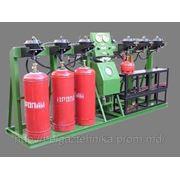 Агрегат гидравлических испытаний и дегазации баллонов АГДБ-2 фото