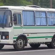 Аренда автобуса ПАЗ для перевозки фото