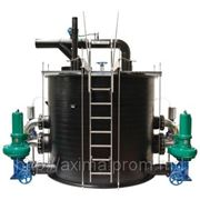 Напорная установка для отвода сточных вод фото
