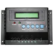 Контроллер заряда для солнечных панелей С2430 12В 20А фото