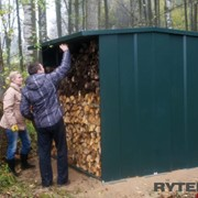 Дровяники — домики для хранения инструментов, складирования, сушки дров на удобном для применения месте фото