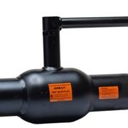 Кран стальной шаровой Бивал серии КШТ 11, 12 со стандартным штоком, присоединение сварное, с/с фото
