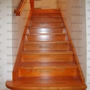 Лестницы деревянные, отделка бетонных лестниц деревом фото