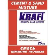 Цементно-песчаная смесь фото