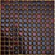 Мозаика стеклянная На Черной Красная FLP-S-038 фото