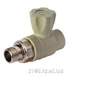 Кран радиатор - прямой 25x3/4 ПП 3242-vlr-250c00 фото
